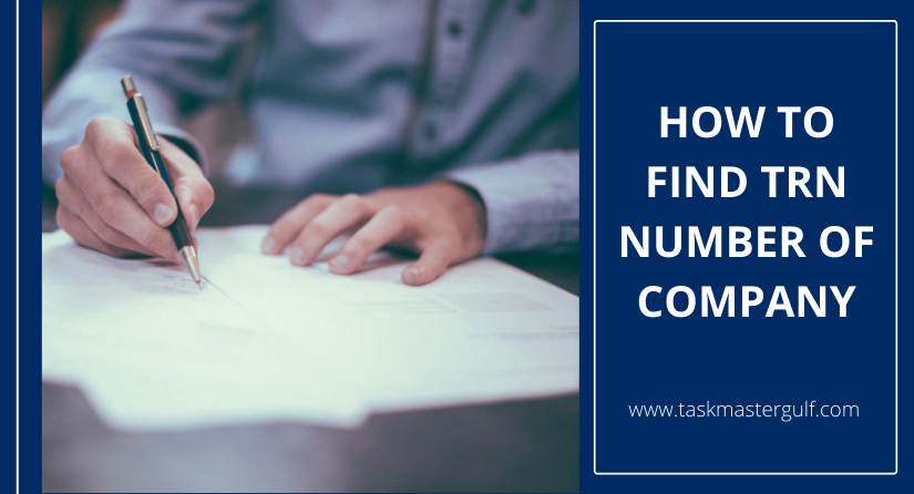 How To Find TRN Number of Company