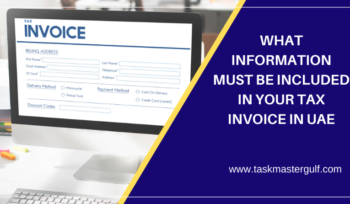 Tax Invoice In UAE